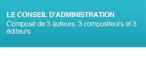 Organigramme - Conseil d'Administration